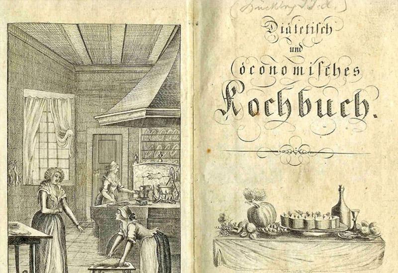 Eurpoäische Aufklärung im Netz - Kochbuch - Johann-Friedrich-Danneil-Museum Salzwedel (CC BY-NC-SA) - © Johann-Friedrich-Danneil-Museum Salzwedel Bibliothek [B 10875]