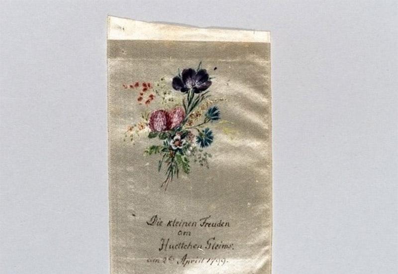 Die kleinen Freuden am Huettchen Gleims: den 2ten April 1799.